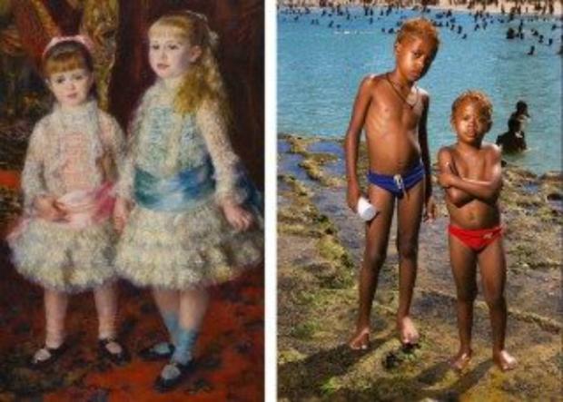 Retrato da infância em diferentes épocas e culturas.