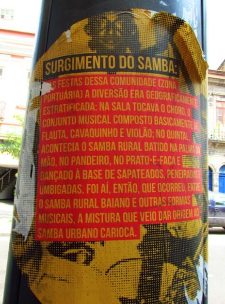 Origem do samba carioca