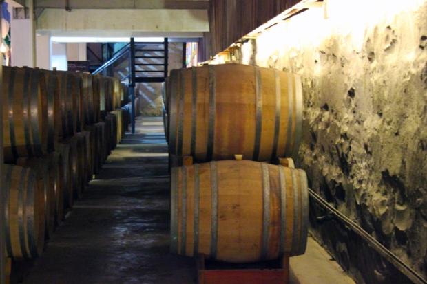 O barril pequeno, indispensável para uma produção mais elaborada e artesanal.