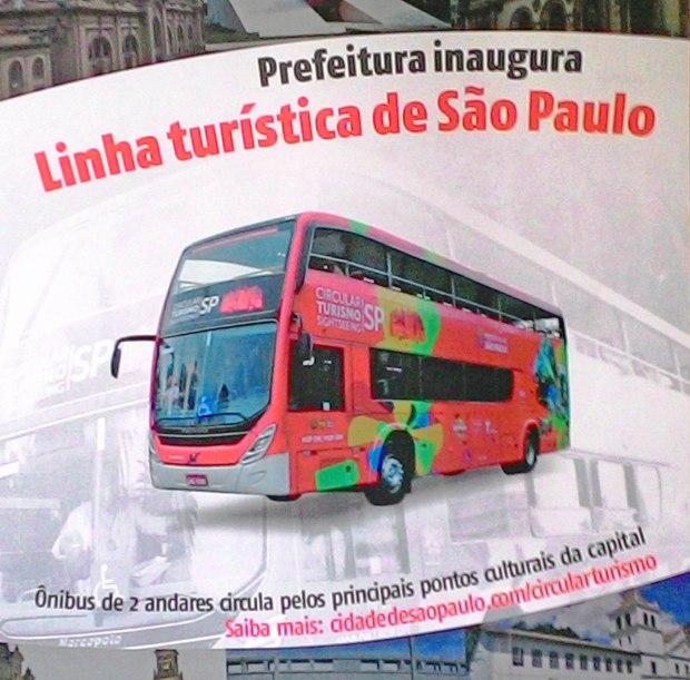 Linha Circular Turismo cartaz