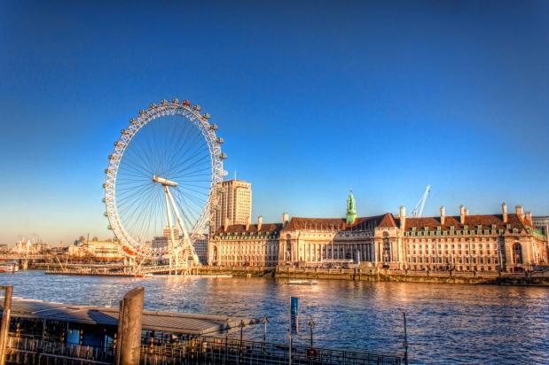 London-Eye-inglaterra londres roda gigante a bussola quebrada