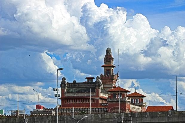 A sede do Catavento Cultural.