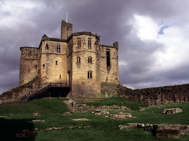 Warkworth castelo inglaterra