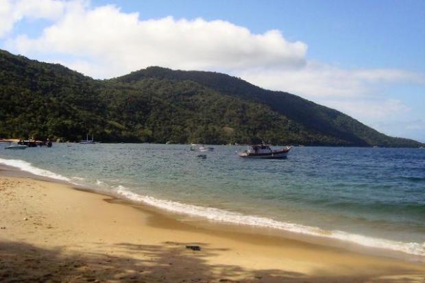 Praia de Palmas.