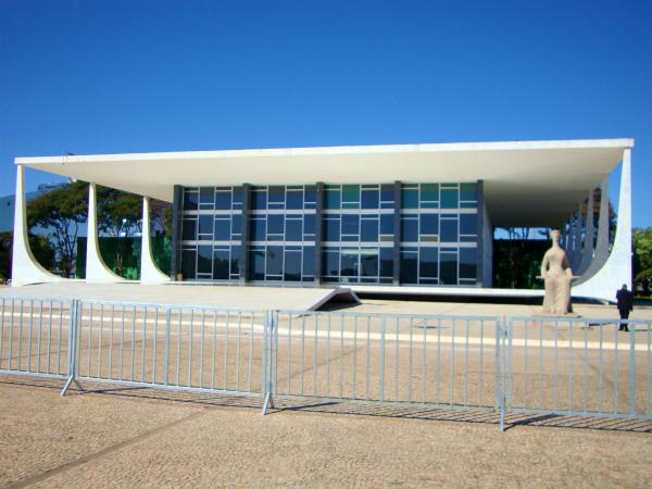 STF Praça dos três poderes Brasília