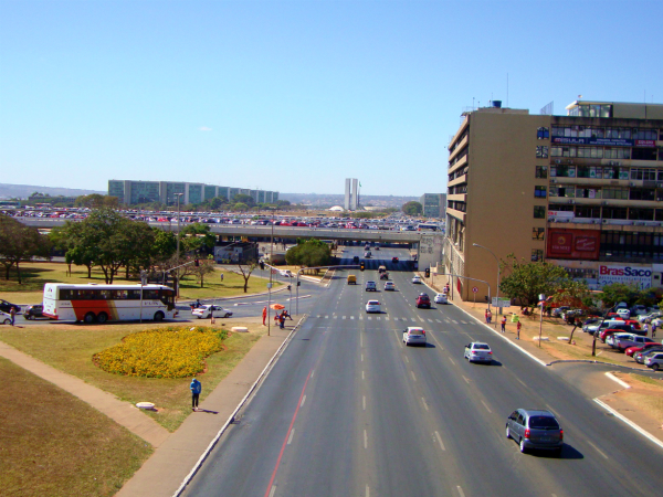 Vista Eixo Monumental Brasília