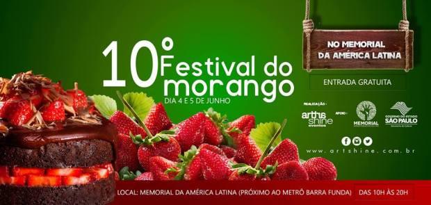 10 festival do morango