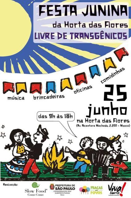 festa junina livre de transgenicos a bussola quebrada