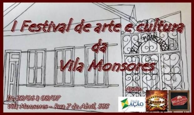 festival de arte e cultura vila monsores a bussola quebrada