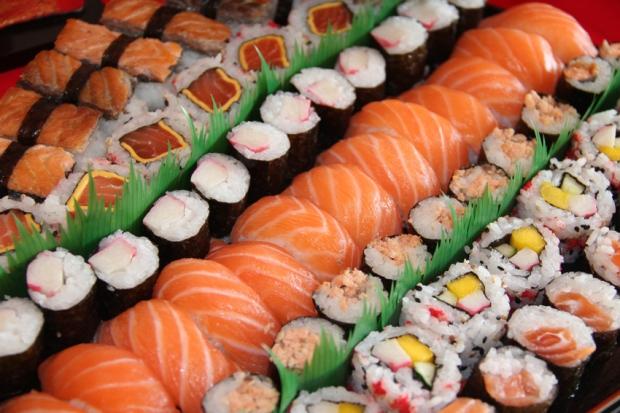 Comida japonesa é fácil Você ainda vai encontrar muita comida diferente por este mundo.