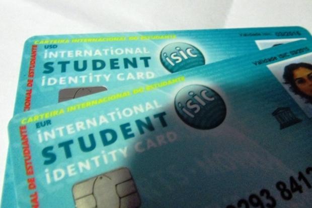 carteira de estudante internacional