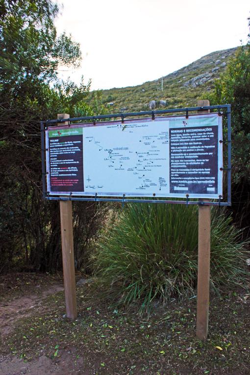 placa precos parque nacional itatiaia a bussola quebrada
