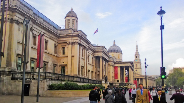 National-Portrait-Gallery-trafalgar-square-a-bussola-quebrada
