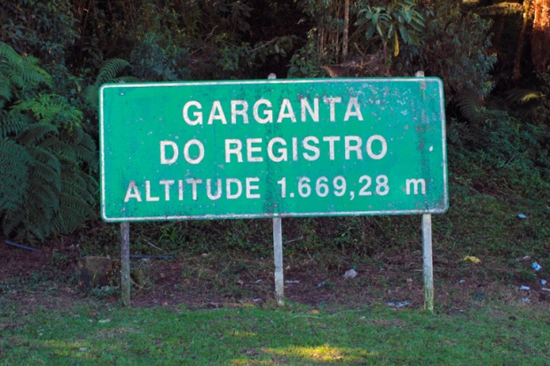 parada garganta do registro a bussola quebrada