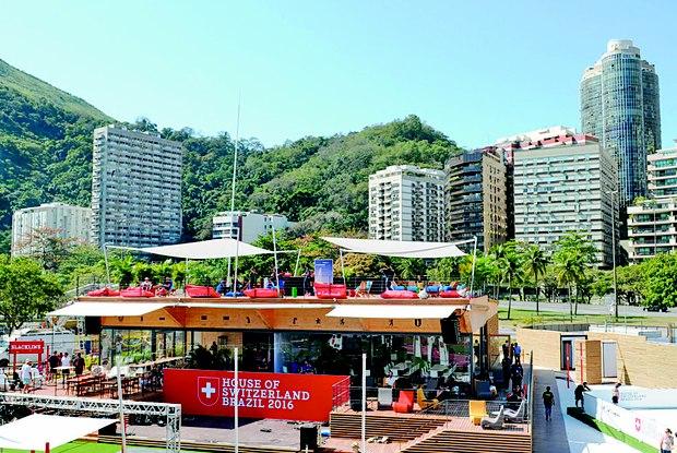 pavilhao da suica olimpiadas rio 2016 a bussola quebrada