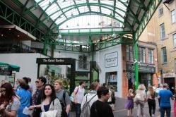 Uma loja de orgânicos no Borough Market