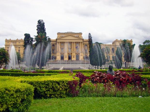 Museu Paulista. mais conhecido como Museu do Ipiranga,