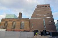 Comecei pelo fim. Mas o prédio da Tate Modern já é uma arte.