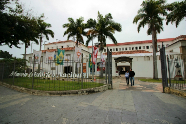 Museu Histórico Nacional. Centro do Rio de Janeiro.