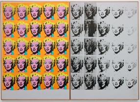 Os famosos retratos de Marilyn Monroe