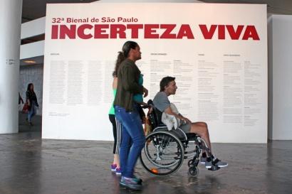 As Obras de Niemeyer são famosas pela acessibilidade. No Prédio da Bienal, o conceito de democratizar e dar acesso é seguido com capricho.