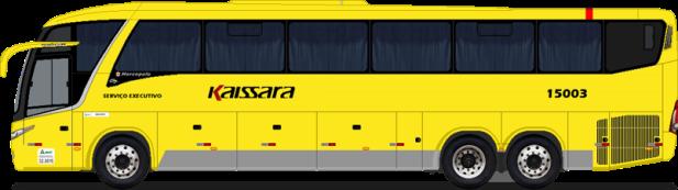 Ônibus da Viação Kaissara