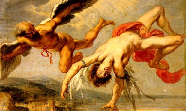 O voo de Ícaro – Jacob Peter Gowy