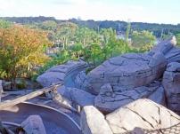 Deu medo da altura do tobogã? Relaxe, aproveite a paisagem do Monte Mayday.