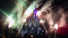 O dia na Disneyworld começa e termina no Castelo da Cinderela.