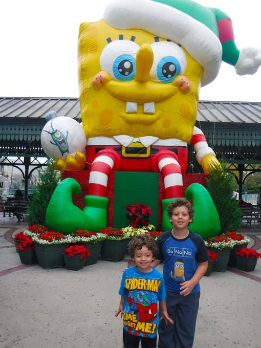 Vamos lembrar que nossa Família Aventureira foi à Disney em dezembro.