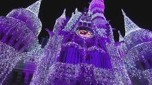 O magnífico castelo de A Bela e a Fera.