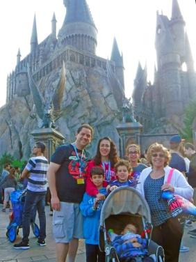 Finalmente! Chegamos ao Castelo de Hogwarts!