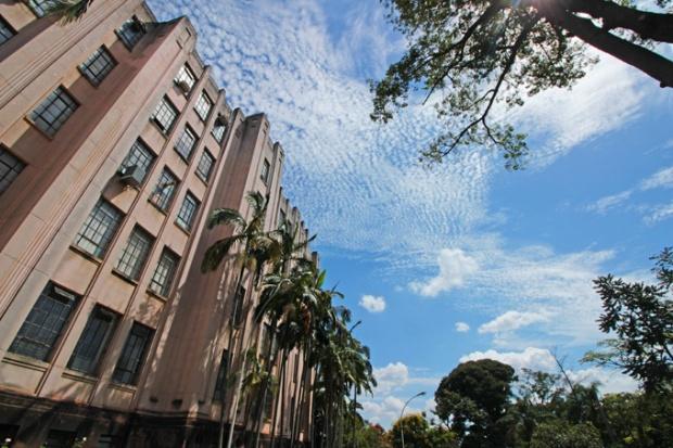 Fachada do Instituto Biológico de São Paulo.