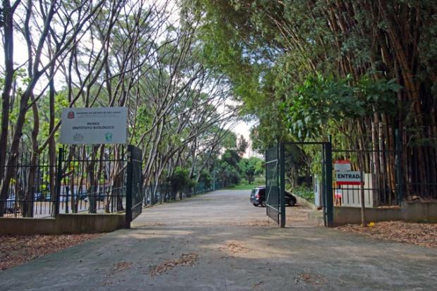 Entrada do Museu do Instituto Biológico de São Paulo. o Planeta Inseto fica aqui.