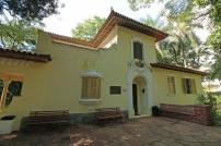 A casa do Museu do Instituto Biológico, sede do Planeta Inseto.