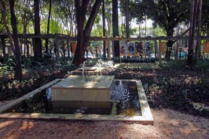 O jardim do Planeta Inseto.