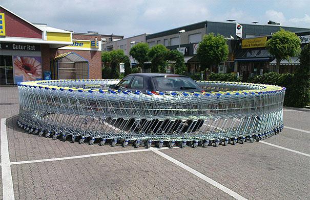Mas como você demorou no supermercado!
