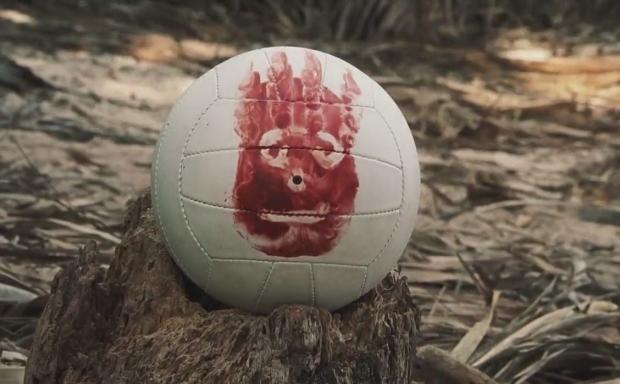 O Náufrago. Pobre Wilson.