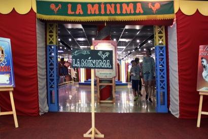 Entrada para a exposição La Mínima 20 anos.