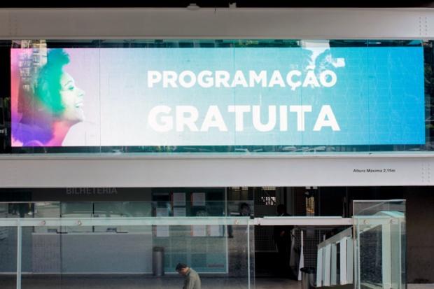 Programação gratuita no Centro Cultural FIESP.