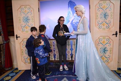 E a Elsa, de Frozen!