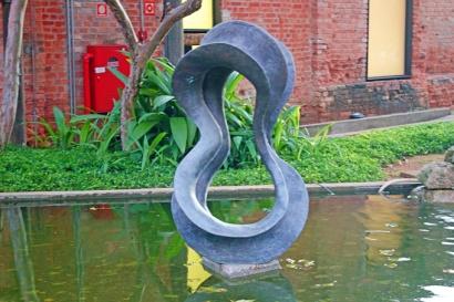 Esculturas do Jardim da Cinemateca.