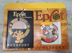 Passaporte Epcot Center.