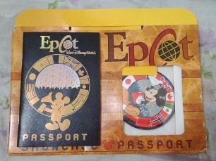 Passaporte Epcot Center.