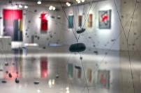 Arte abstrata da exposição Fotografias da exposição Construções Sensíveis.