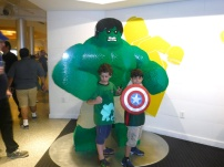 O Hulk de Lego.
