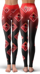 Leggings cheias de incetivo.