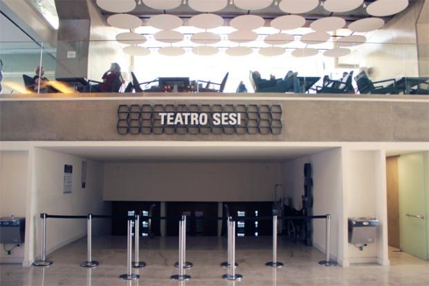 Teatro do SESI, no Centro Cultural FIESP.