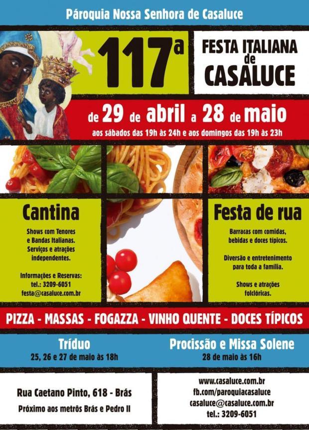 Festa Italiana de Casaluce, no Brás.