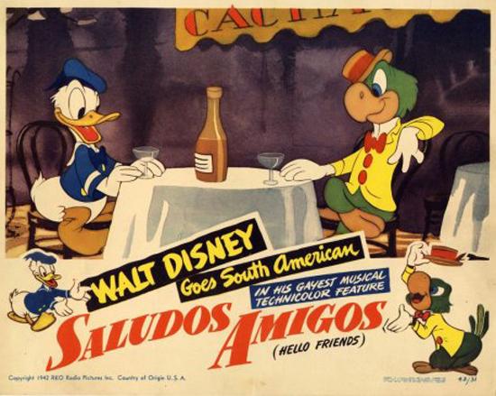 """Cartaz de """"Olá, Amigos!"""""""